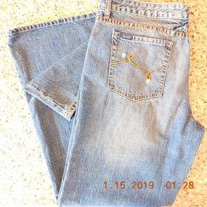 Revolt Jeans Company Wide Leg Jean